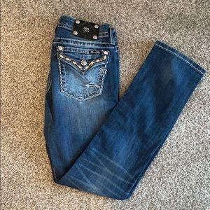 Miss Me Jeans Straight Leg Jeans Size 31
